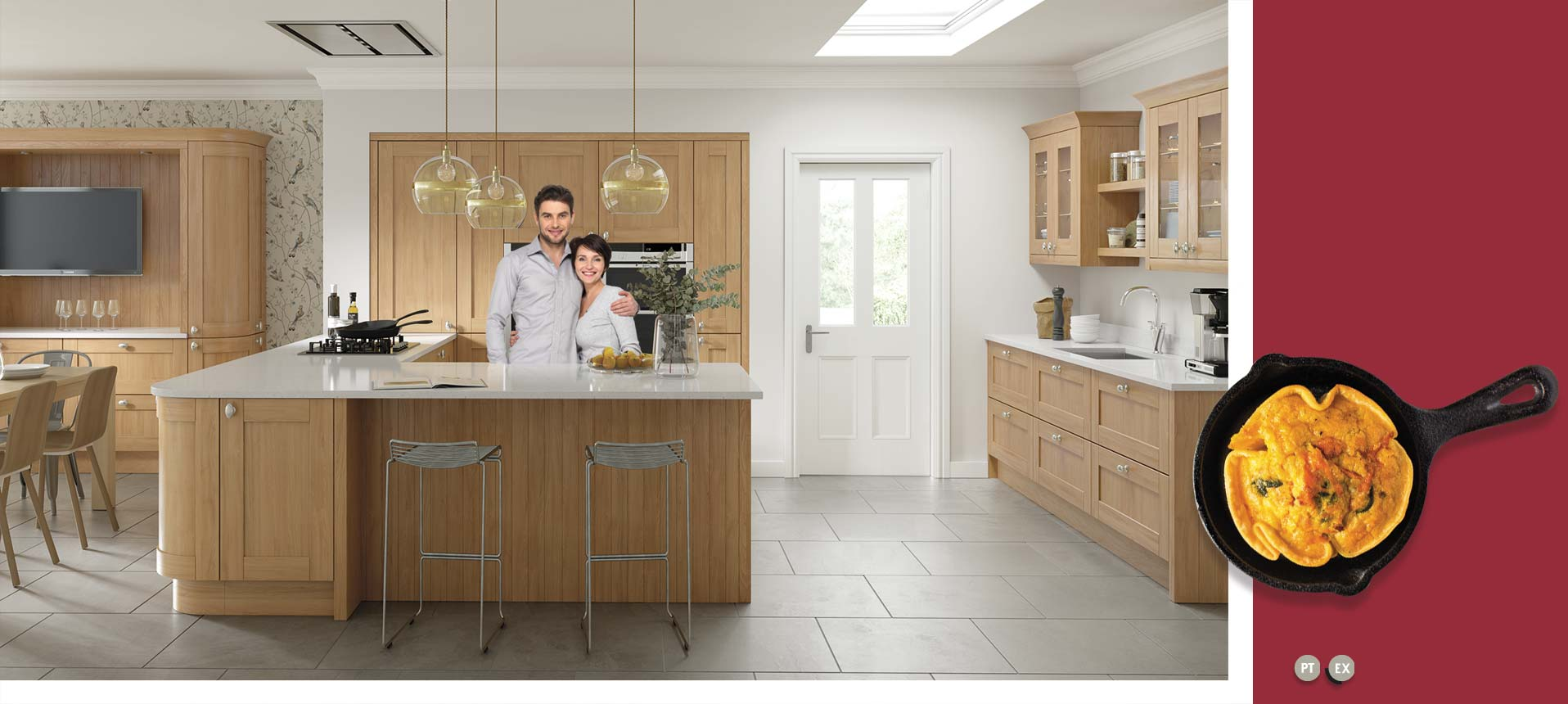 Cambridge Oak Kitchens On Trend Kitchen Collection