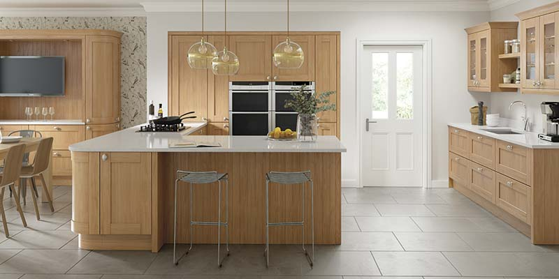Cambridge Oak Kitchens | On Trend Kitchen Collection