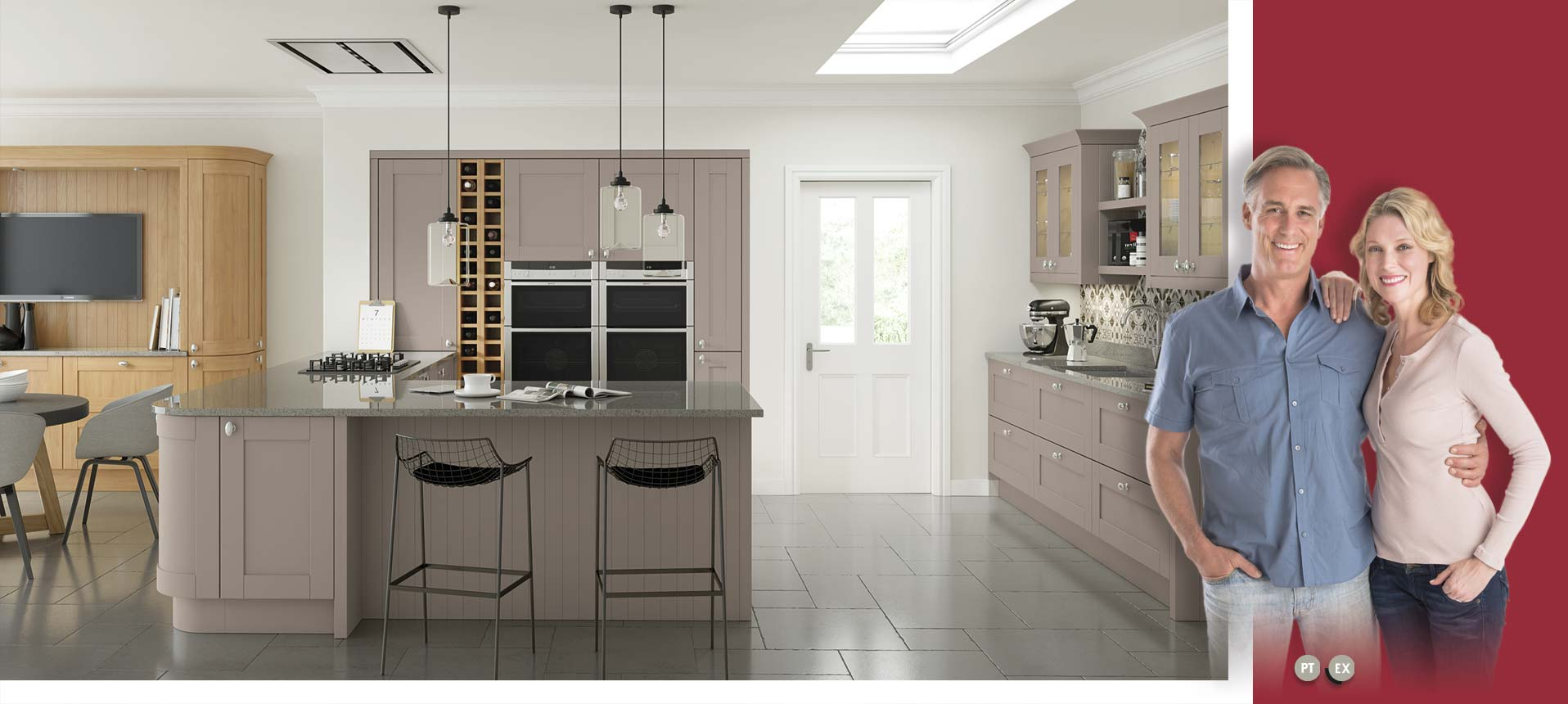 Cambridge Stone Grey Kitchens On Trend Kitchen Collection
