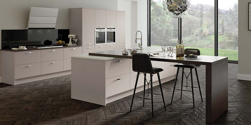 Vivo Matt Cashmere On Trend Kitchen Collection