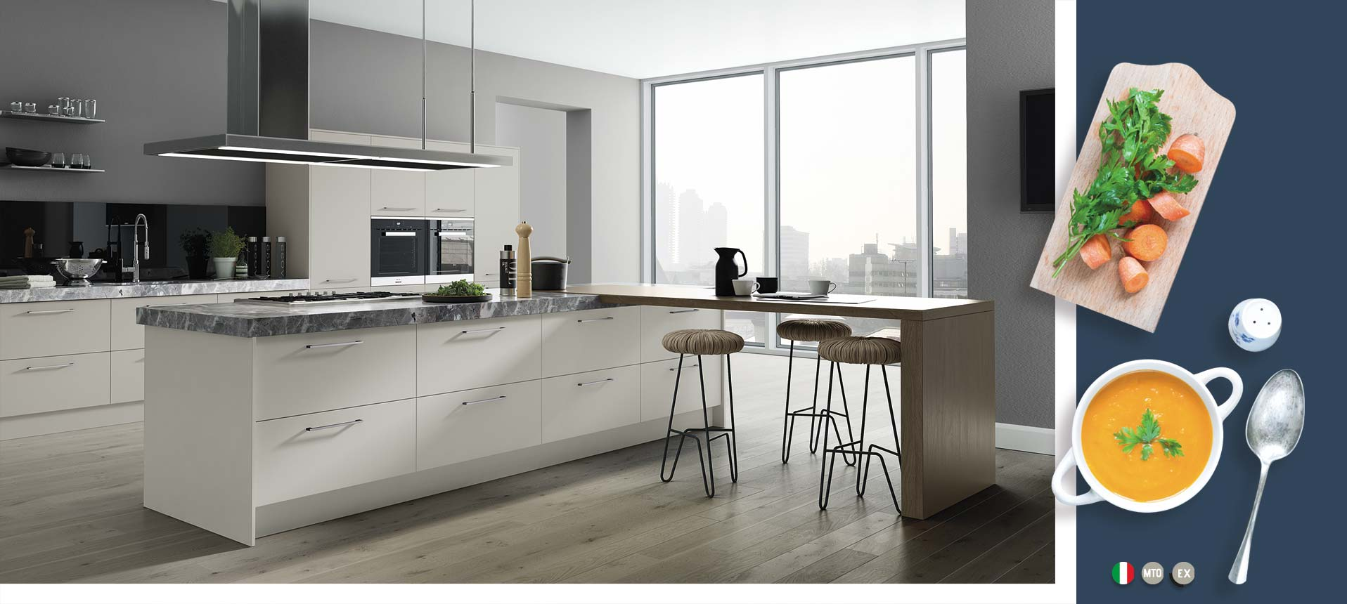 Vivo Matt Light Grey Kitchens On Trend Kitchen Collection