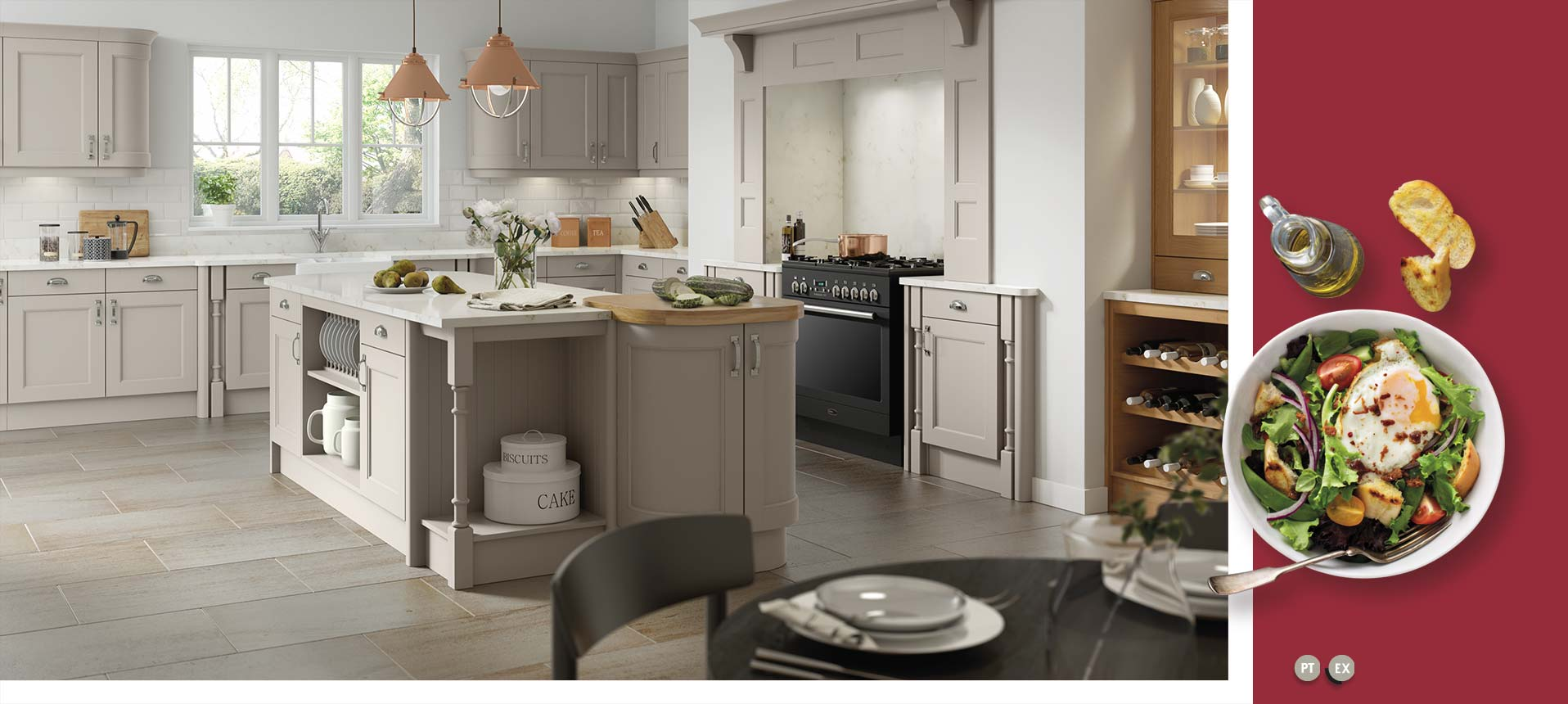 Windsor Stone Grey Oak Kitchens On Trend Kitchen Collection