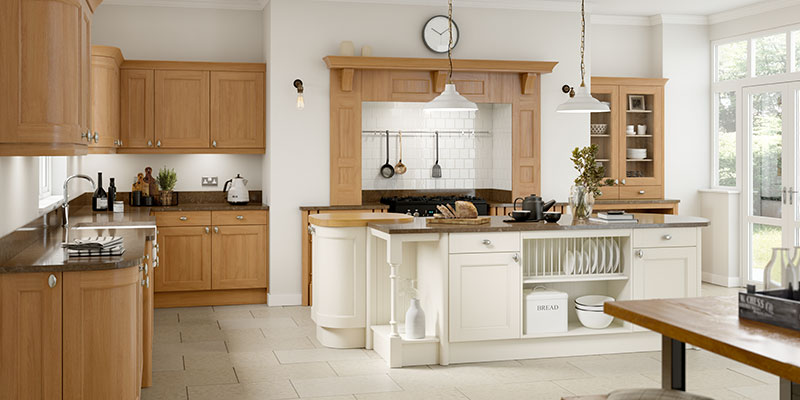 Windsor and Cambridge Oak Kitchens | On-Trend Collection