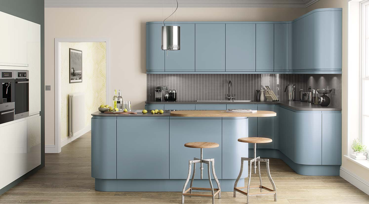 The On Trend Kitchen Collection Lucente Hand Painted
