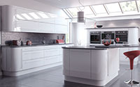 vivo white trendy fitted kitchen collectionite