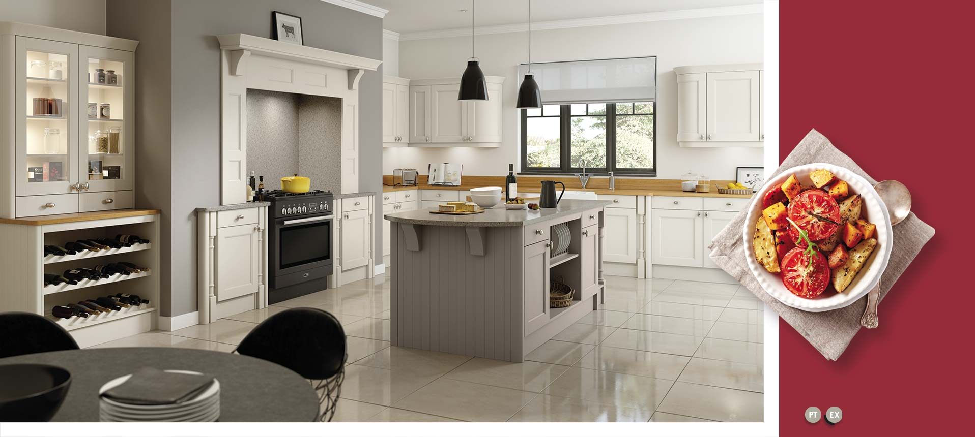 Windsor Mussel Oak Kitchens On Trend Kitchen Collection
