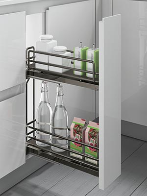 dynamic pull out towel rail
