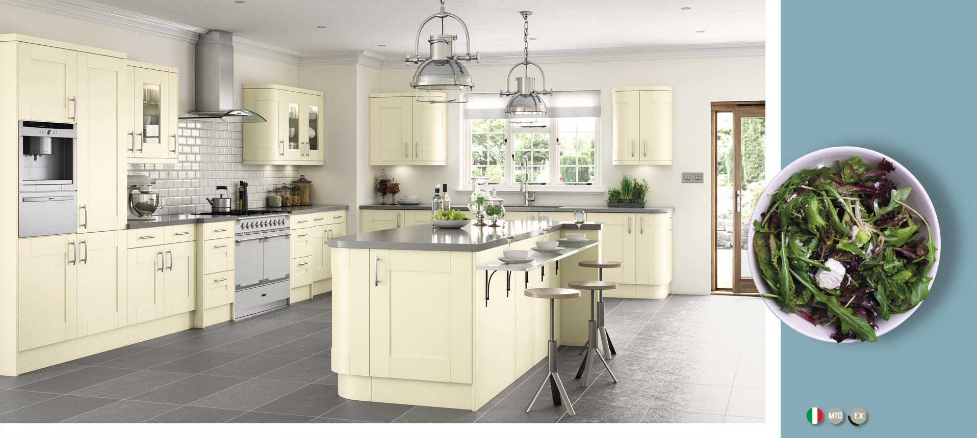 Cartmel Ivory Matt Kitchens On Trend Kitchen Collection