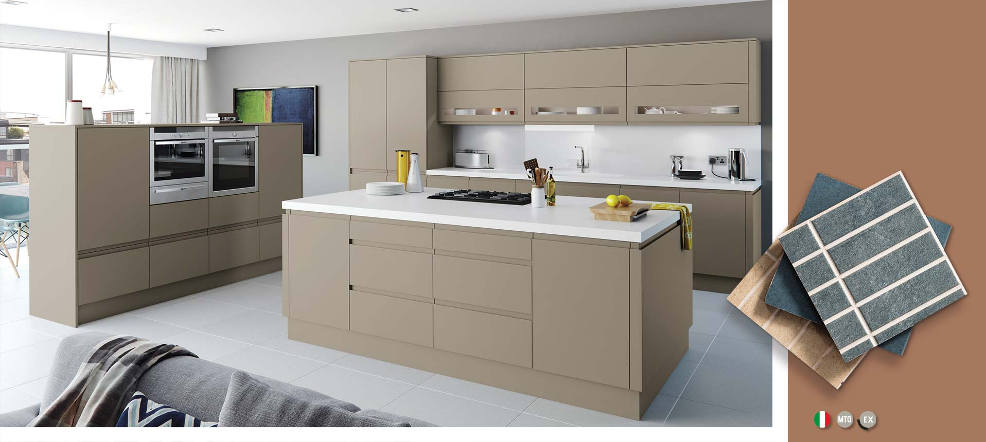 Moda Pavilion Matt Kitchens On Trend Kitchen Collection