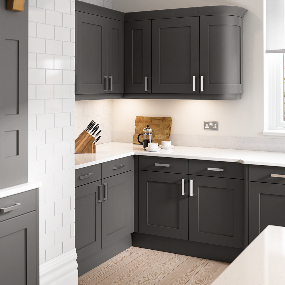 Oxford Anthracite Kitchens On Trend Kitchen Collection