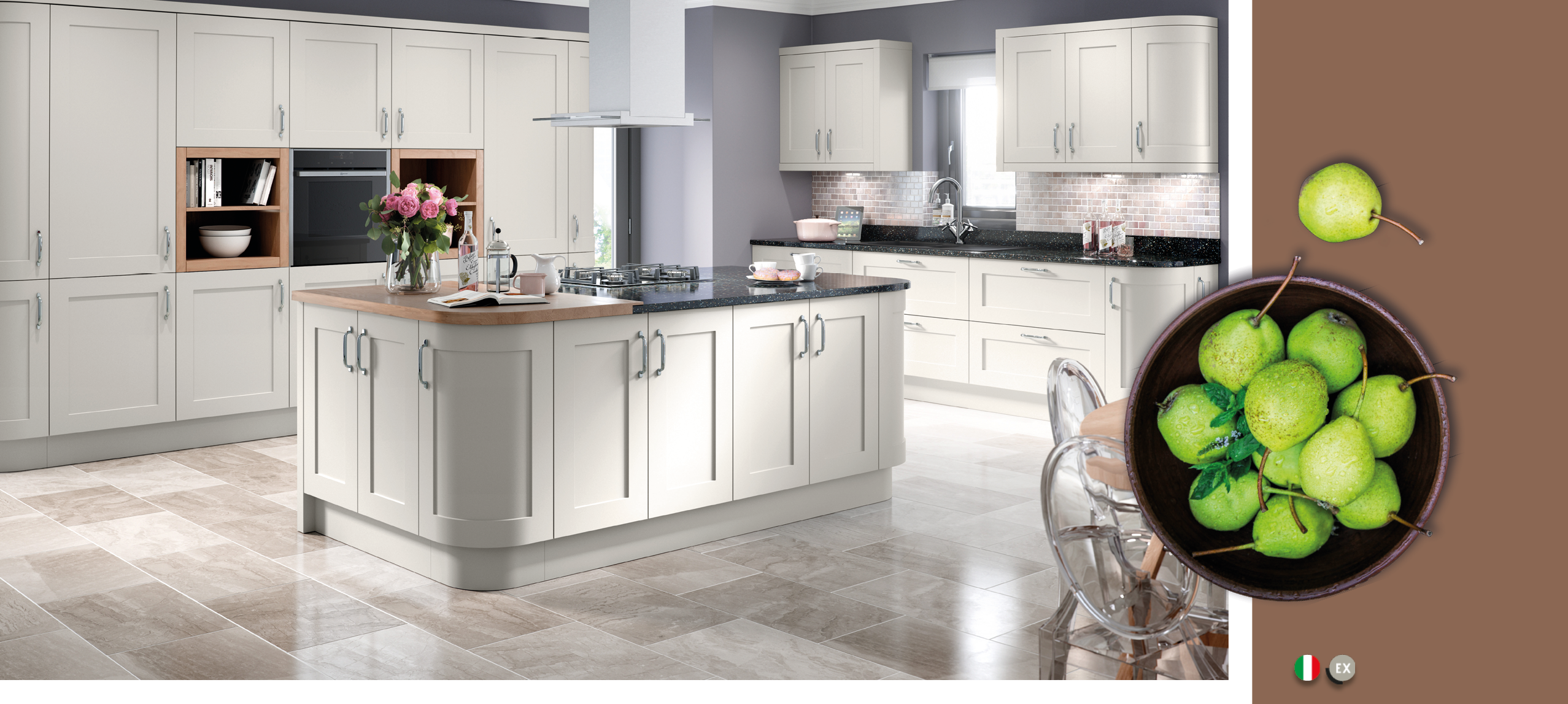Oxford Light Grey Kitchens | On Trend Kitchen Collection