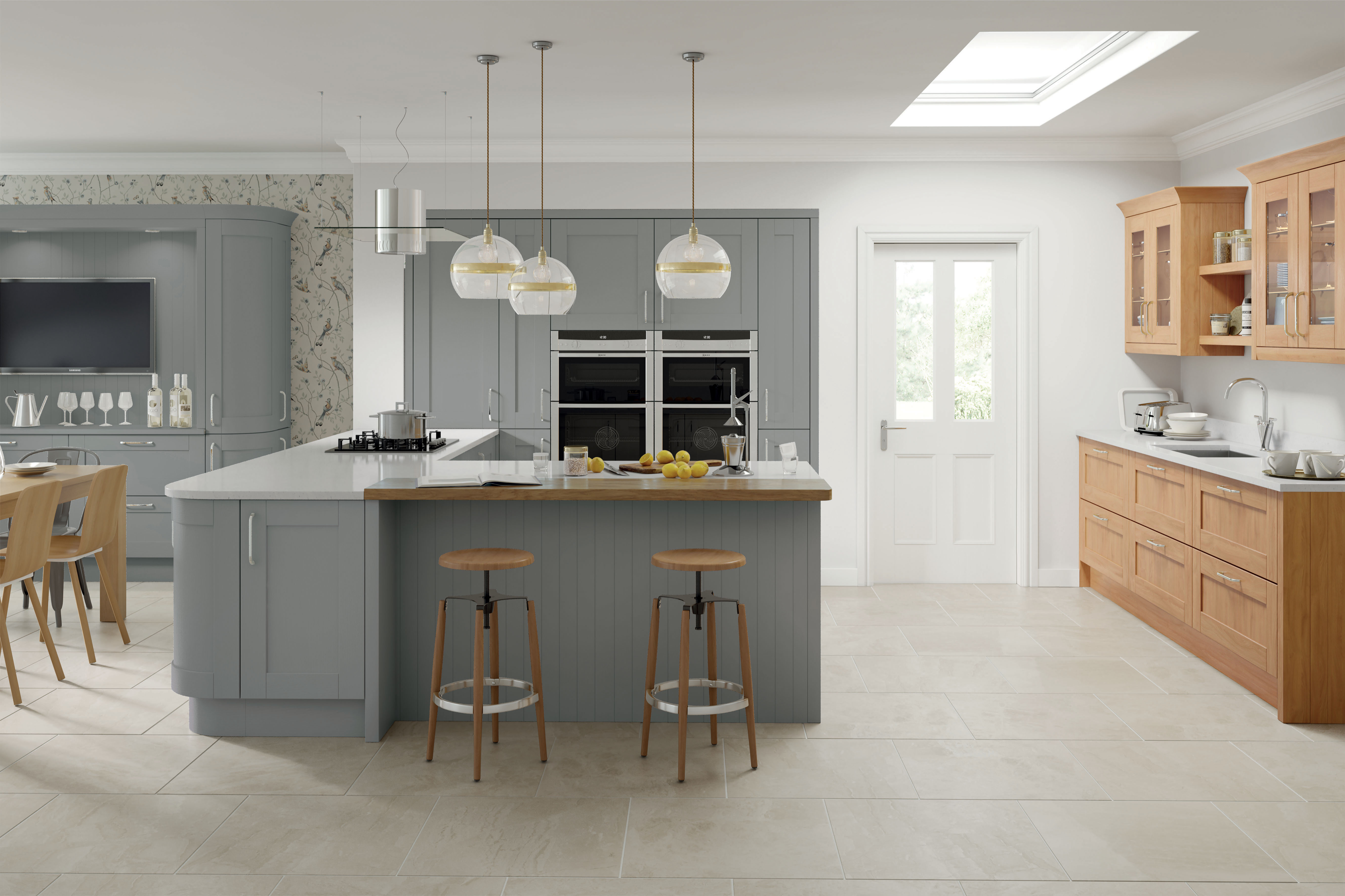 Grey Kitchen Ideas That Are Sophisticated And Stylish: Cambridge Dust Grey Kitchens