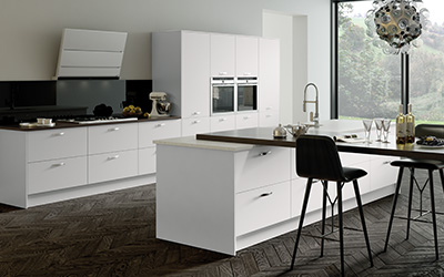 Wondrous Vivo Matt Light Grey Kitchens On Trend Kitchen Collection Interior Design Ideas Gentotryabchikinfo