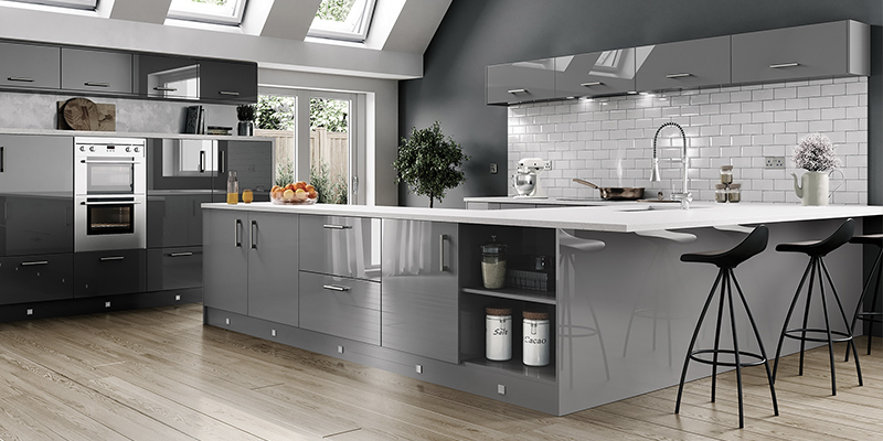 Excellent The Vivo Gloss Kitchen Range On Trend Collection Beutiful Home Inspiration Aditmahrainfo